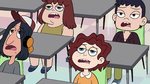 S2E38 School students looking very depressed