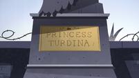 S3E16 Princess Turdina plaque