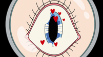 S3E11 Telescopic view of Star Butterfly's eye