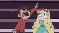 S3E15 Marco Diaz yelling 'mount the cart!'