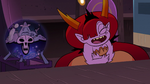 S3E29 Omnitraxus shocked; Hekapoo laughing