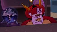 S3E29 Omnitraxus shocked; Hekapoo laughing