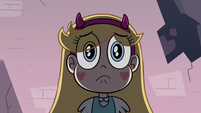 S3E8 Star Butterfly looking very worried
