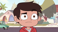 S2E38 Marco Diaz looking confused at Otis