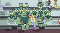 S4E16 Star, Buff Frog, and tadpoles sitting together