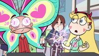 S1E3 Marco with a butterfly-shaped head