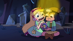 S2E27 Star Butterfly shows the photo to Janna