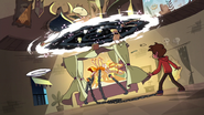 S3E18 Large dimensional portal opens over Mewberty Star