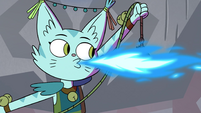 S4E10 Cat monster breathing fire