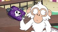 S4E2 White monkey has Marco's wallet