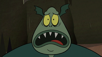 S2E20 Buff Frog worried about Meat Fork
