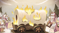 S2E38 Bonners keep warm by burning their wagon