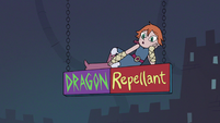 S3E15 Higgs on the dragon repellent sign