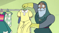 S3E37 Sir Lavabo 'also re-dyed a few items'