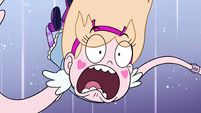 S4E36 Star Butterfly falling through space
