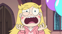 S3E25 Star Butterfly seriously freaking out