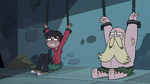 S3E6 Marco Diaz and River laughing at King Ludo