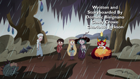 S4E36 Star and friends meet Hekapoo in the swamp
