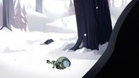 S2E2 Ludo lands in the snow below