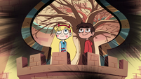 S2E30 Star and Marco looking at the sky