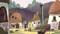 S3E31 Star and Tom in empty monster village