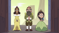 S4E10 King, Queen, and Princess Spiderbite arrive