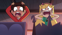 S4E28 Star and Marco looking horrified