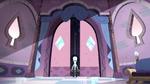 S2E40 Queen Moon opening a secret chamber