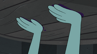 S4E30 Moon presses her hands on well cover