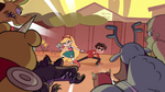 S1E3 Star and Marco under attack