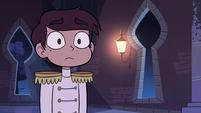 S2E40 Marco Diaz looking shocked at Star Butterfly