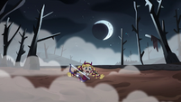 S3E27 Star Butterfly gets stuck in the mud