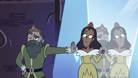 S4E10 King and Queen next to Globgor's crystal