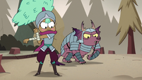 S3E37 Kelly and Jorby prepare for battle