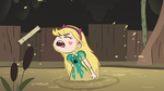 S3E5 Star Butterfly coughing up muddy water