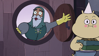 S4E1 Sir Lavabo greeting Star Butterfly