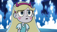 S3E12 Star Butterfly looking serious at Tom