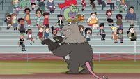 S1E4 Awesome Opossum cheering