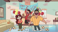 S1E6 Diaz Family's surprise party for Gustav