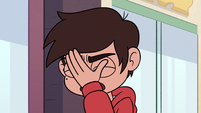 S2E24 Marco Diaz face-palming with exasperation