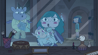 S4E17 Janna walks in on Eclipsa, Meteora, and Archibald