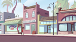 S2E24 Marco and Pony Head walking through town