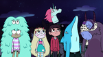 S2E33 Star, Marco, and Bounce Crew looking sad