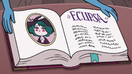 S3E28 Eclipsa's page in Butterfly family book