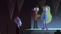 S4E13 Star, Marco, and Tom hear the Stone chime