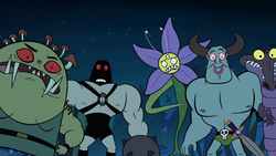 S1E7 Ludo's minions afraid of Star