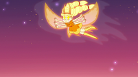 S3E22 Star Butterfly fluttering through the sky