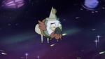 S4E14 Ludo drifts aimlessly through space