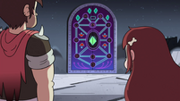 S4E28 Marco and Mariposa watch the door close