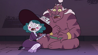 S4E32 Eclipsa and Globgor gasping in terror